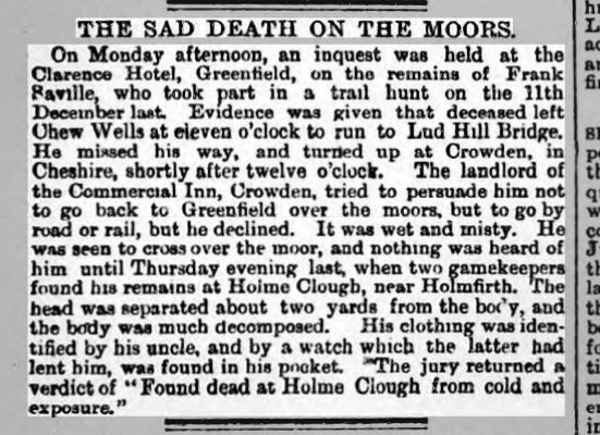 YORKSHIRE POST July 20th 1887