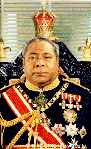 King of Tonga 1981