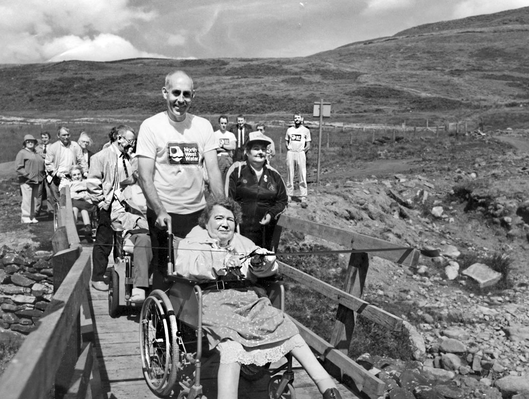 george-grime-opening-the-disabled-access-path